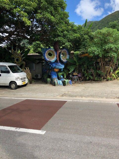 石垣島のデカい像