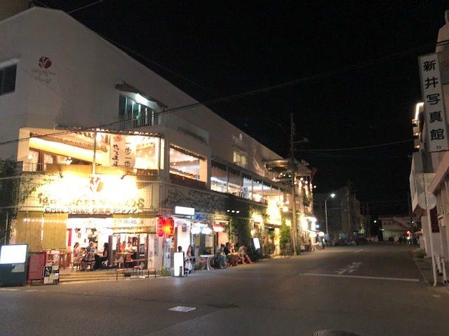 石垣島の飲み屋街